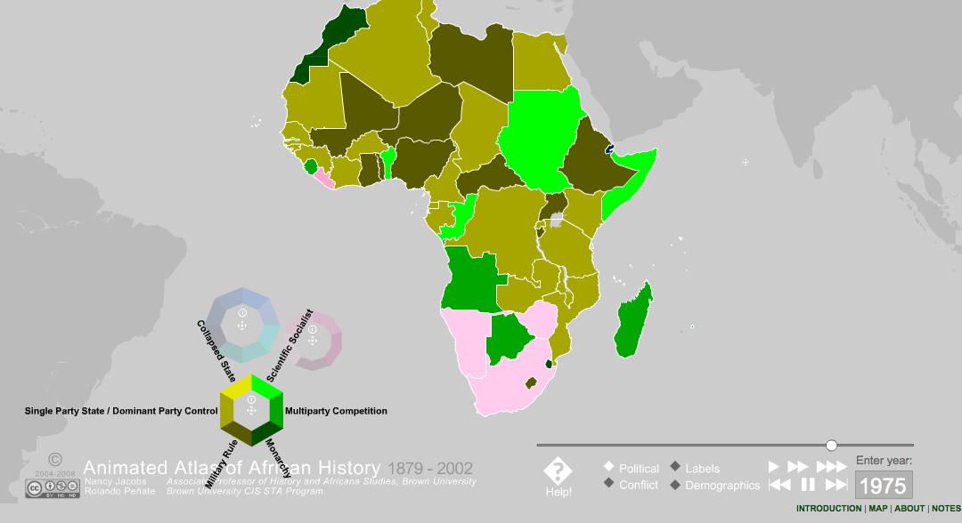AAAH Political Map