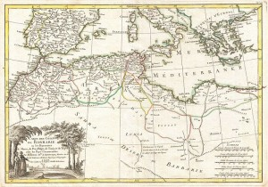 800px-1771_Bonne_Map_of_the_Mediterranean_and_the_Maghreb_or_Barbary_Coast_-_Geographicus_-_Barbarie-bonne-1771