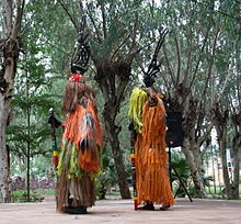 Ciwara dance in Bamako 2010 wiki