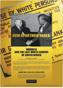 How Apartheid Ended Lecture